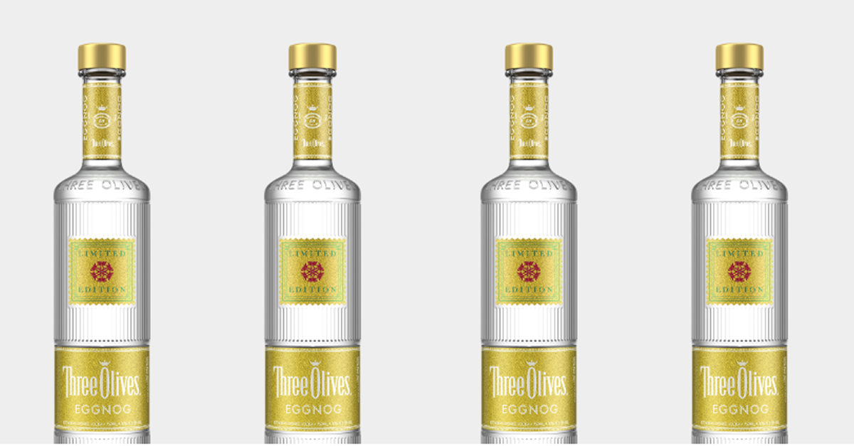 Eggnog Vodka Is Landing Just In Time For Holiday Season photo