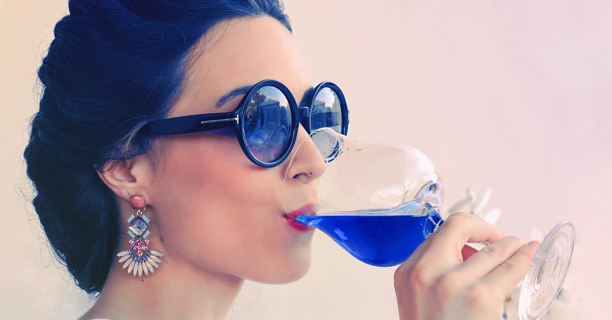 Blue Wine Not A Gag: Apparently, Americans Love It photo