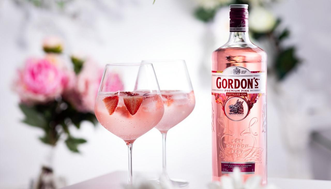 Gordon's Releases Pink Gin In Nz, Just In Time For Summer photo