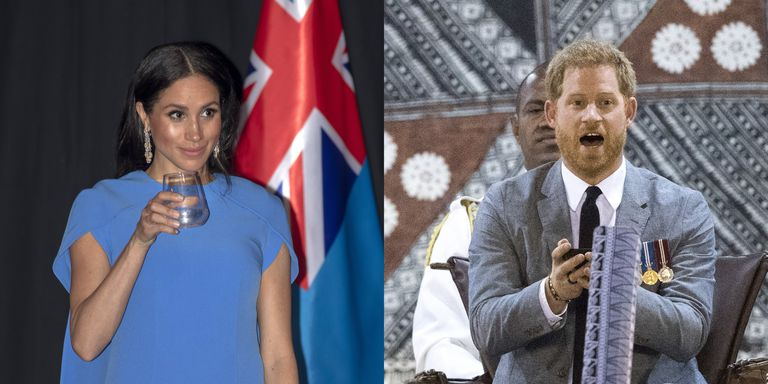Meghan Markle Toasts with Water, While Prince Harry Samples 'Narcotic' Delicacy Kava photo