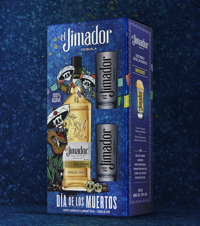 Tequila El Jimador Leva Día De Los Muertos Para Embalagens photo