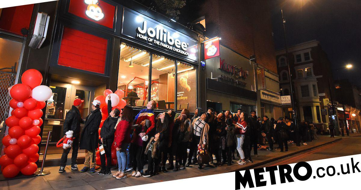Hungry Fans Endure 18-hour-long Queue For Jollibee's First Uk Opening photo