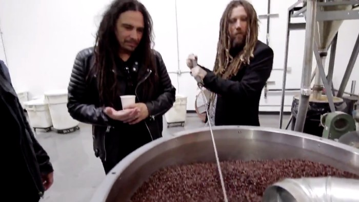 KoRn is the latest metal band to launch their own coffee range photo