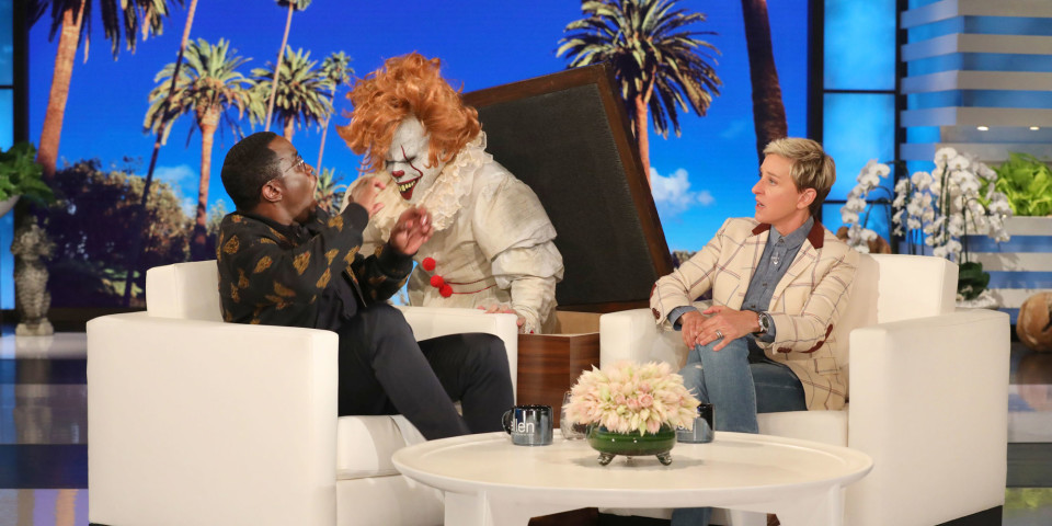 Diddy Gets Scared On 'ellen,' Drinks Ciroc, And Talks Living In Amish Country As A Child photo