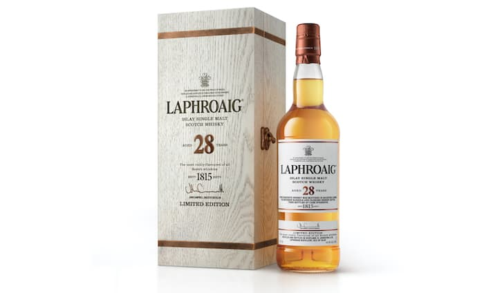 Laphroaig 28 Year Old Scotch Is A Worthy Mix Of Whisky Casks photo