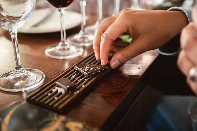 Tuck into this Lindt Excellence pairing at Vrede en Lust photo
