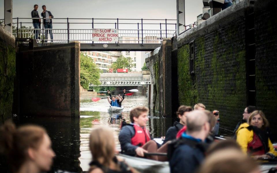 London As You've Never Seen It: Weeds And Relics On An East End Kayak Tour photo