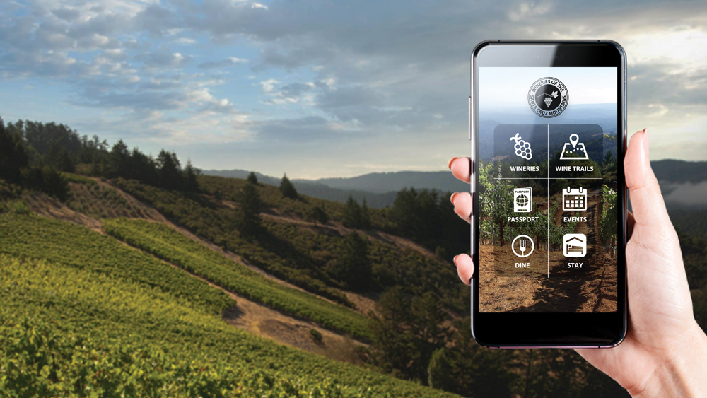 Silicon Valley's Backyard Wine Region Goes Digital photo