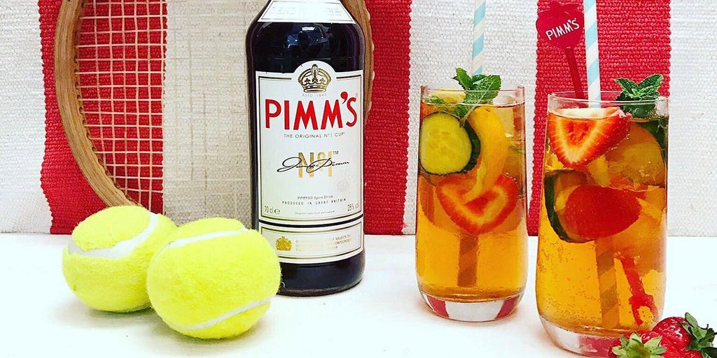 pimms Best alcoholic beverages to drink while watching sports