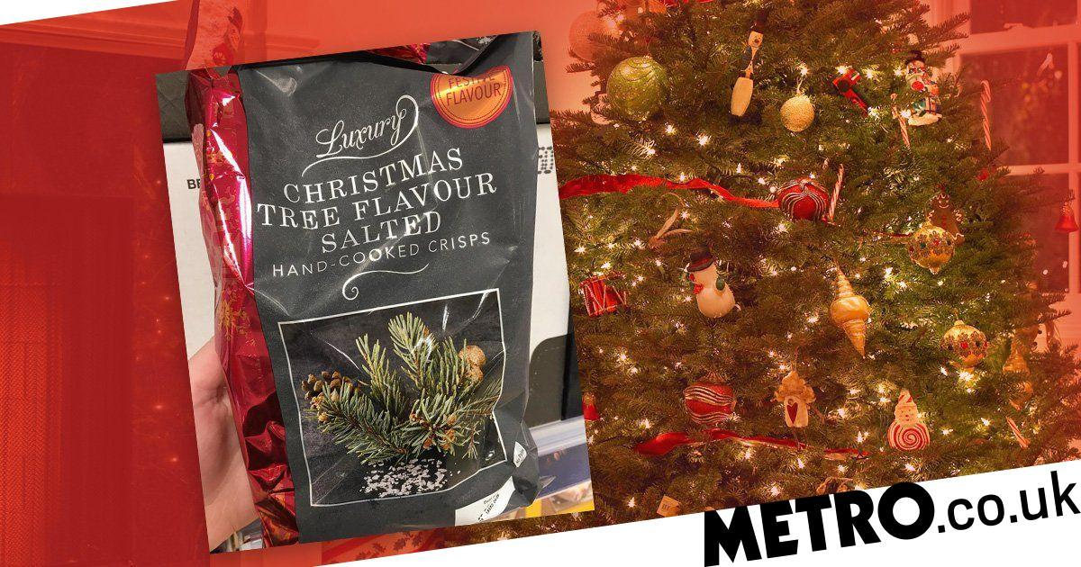 Iceland Is Selling Christmas Tree Flavoured Crisps No One Asked For photo