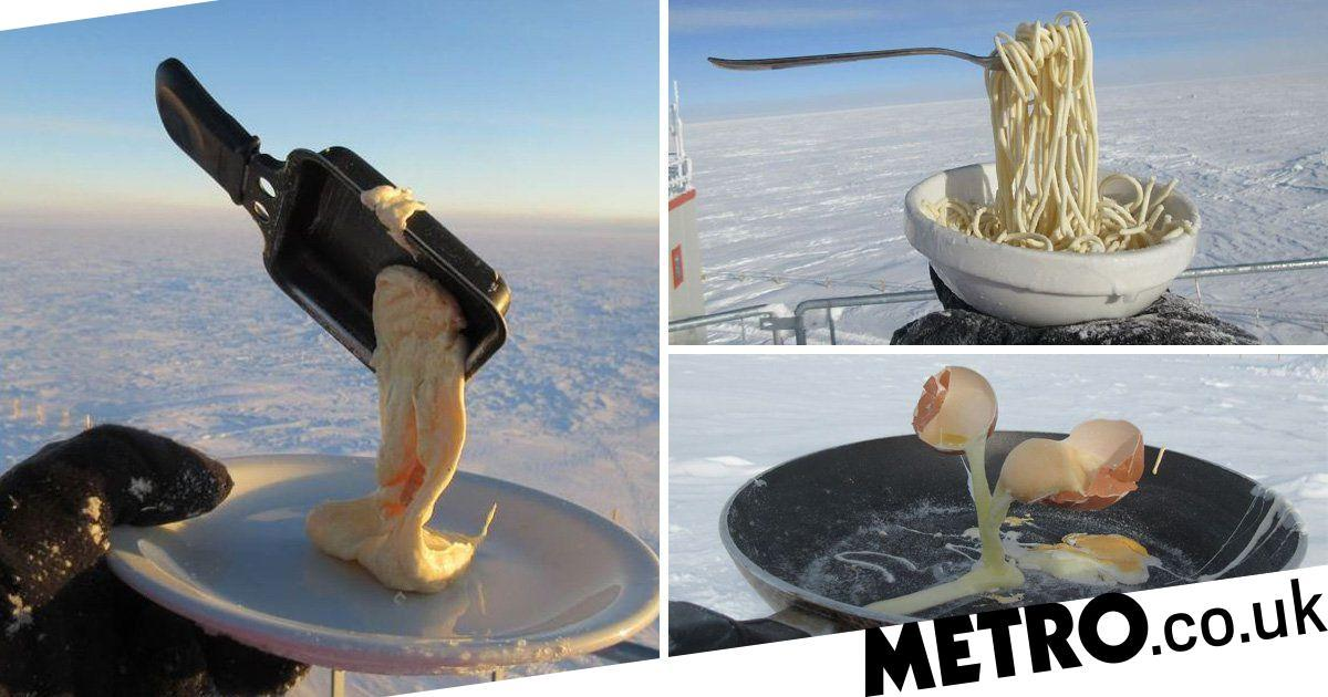 What's It Like Cooking In The Antarctica photo