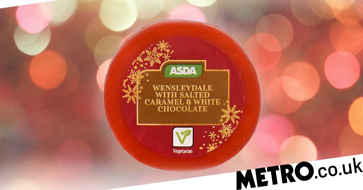 Asda Is Selling White Chocolate And Salted Caramel Cheese For £1 photo