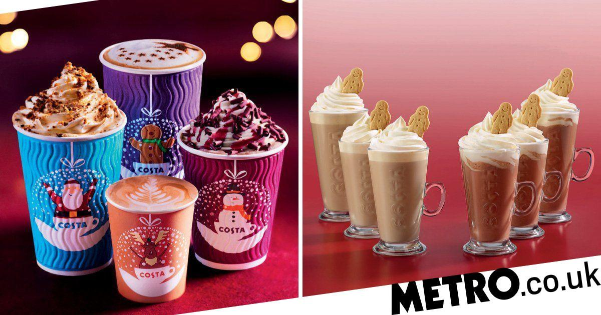 Costa Launches New Festive Cups And Christmas Menu photo