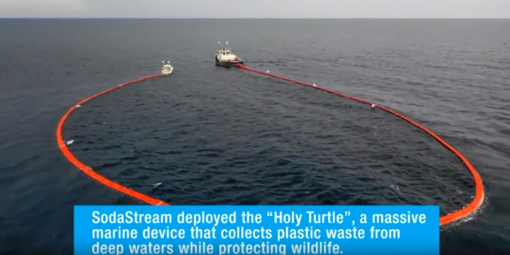 Sodastream Cleans Up Massive Trash Collection Off The Coast Of Honduras photo