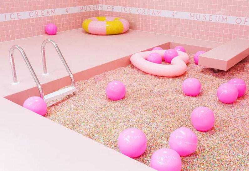 sprinkle pool Rosé wine gets its own Insta museum