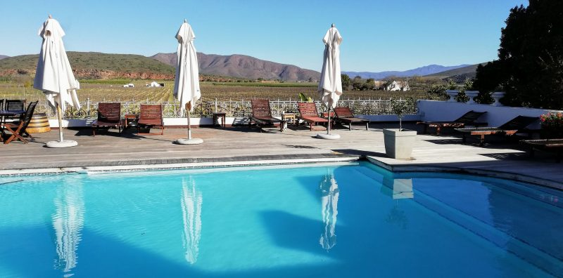 swimming pool excelsior e1538988600694 Eat, Stay and Play at Excelsior Wine Estate in Robertson