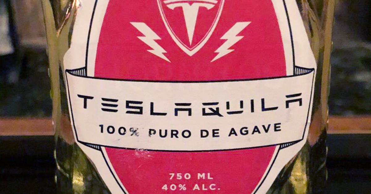 Elon Musk's 'teslaquila' Is 'coming Soon' photo