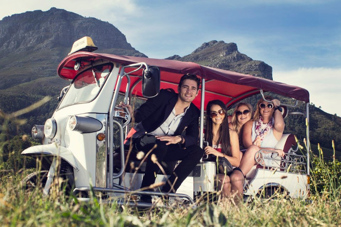 This Tuk Tuk Wine Tour Is The Best Way To See The Stellenbosch Winelands! photo