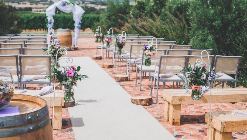 Wedding Season at Glen Carlou photo