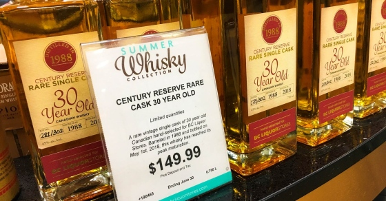 These Rare Whiskies Will Be Up For Sale At Two Burnaby Stores On Satur photo