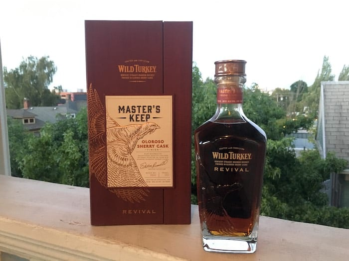 Whiskey Review: Wild Turkey Master's Keep Revival photo