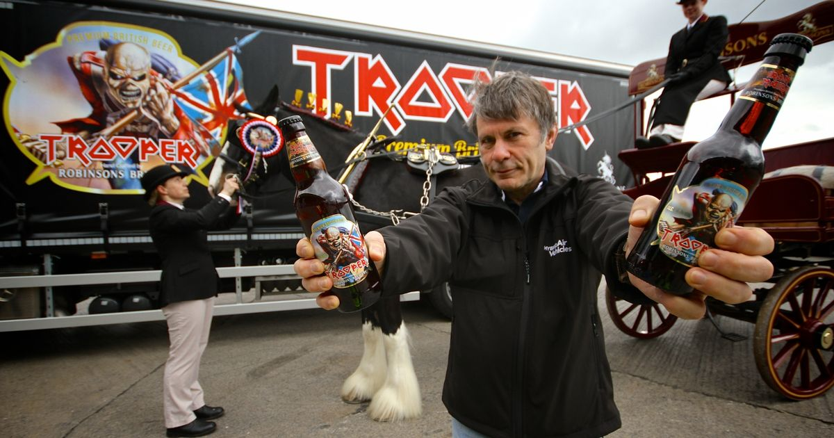 Iron Maiden And Robinsons Brewery Announce Trooper Collection In Celebration Of 25 Million Pints photo