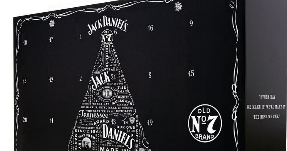 Asda Is Selling A Jack Daniels Advent Calendar… With A Hip Flask photo