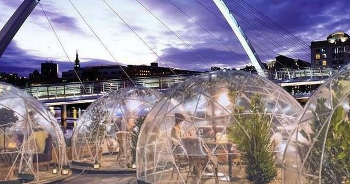 How To Book A Private Dining Pod At Christmas Tyne In Gateshead photo