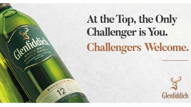 Glenfiddich Launches Its `challengers Welcome` Campaign photo