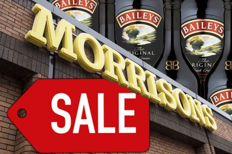 Morrisons Selling Litre Bottle Of Baileys For Half Price At Just £10 photo