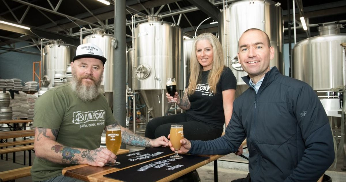 Anarchy Brew Co Joins Firms Ringing In The Changes At Newcastle Business Park photo