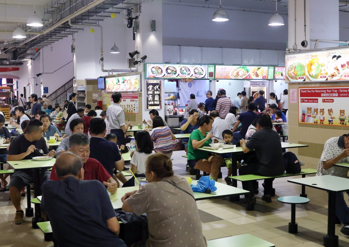 Parliament: 3 Areas Mewr Wants To Improve For New Hawker Centres, Food photo