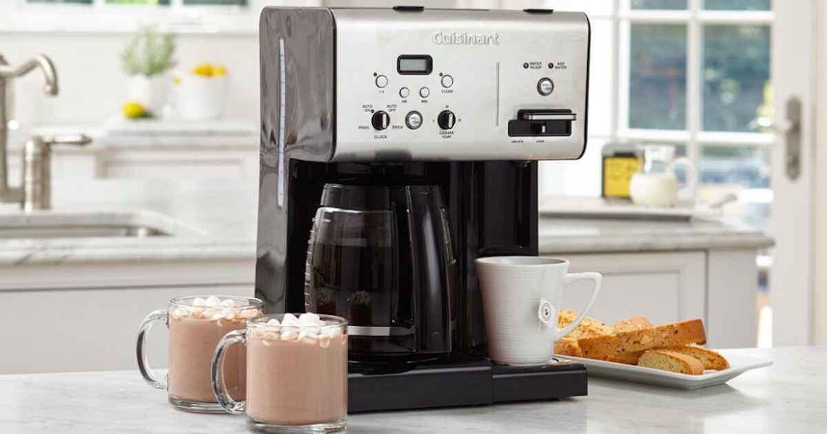 Prepare Everything From Coffee To Hot Cocoa With This Cuisinart Coffee Brewer On Sale At Walmart photo