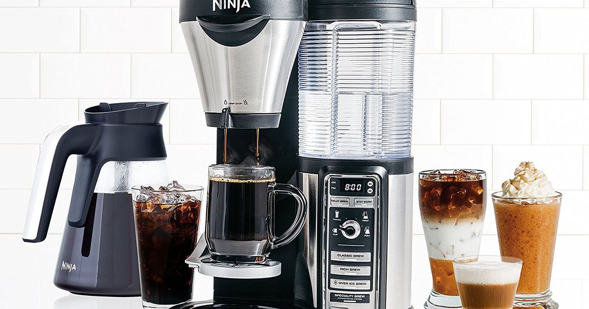 Ninja Makes Way More Than Blenders: Get This Fancy Coffee Maker On Sale For $70 Off At Walmart photo