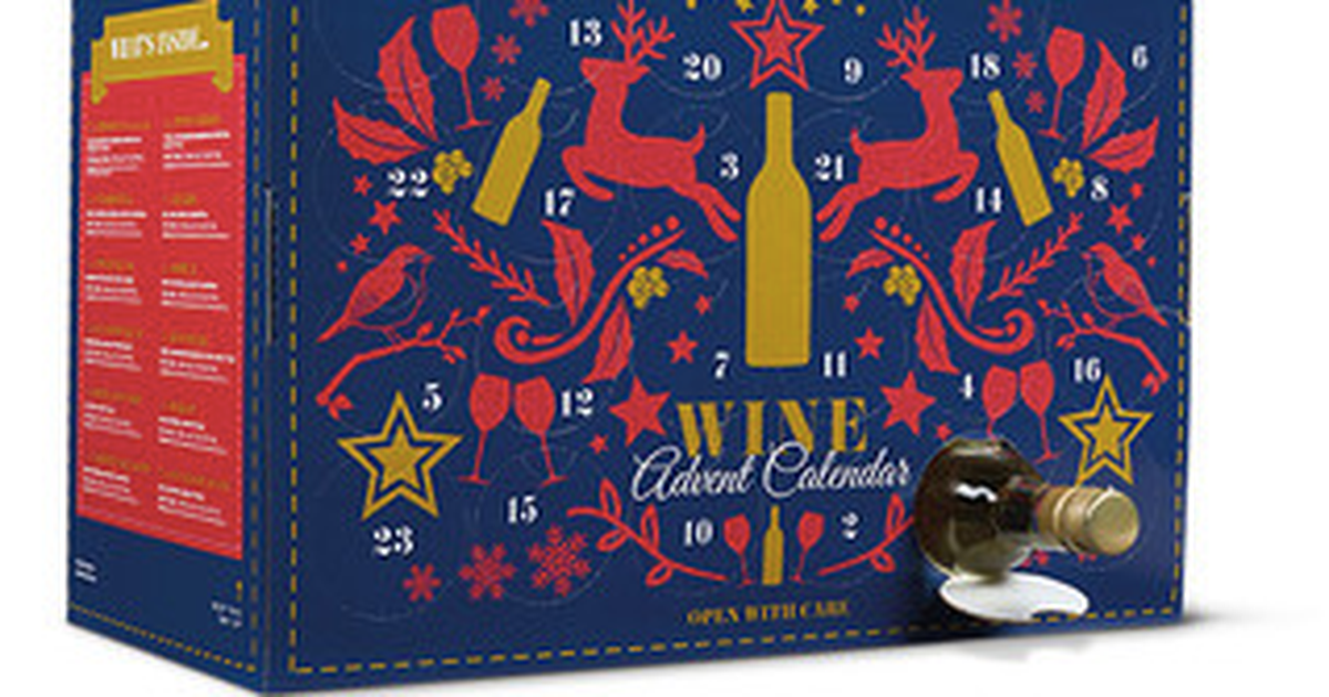 Finally, An Advent Calendar Full Of Wine To Get You Through The Holidays photo