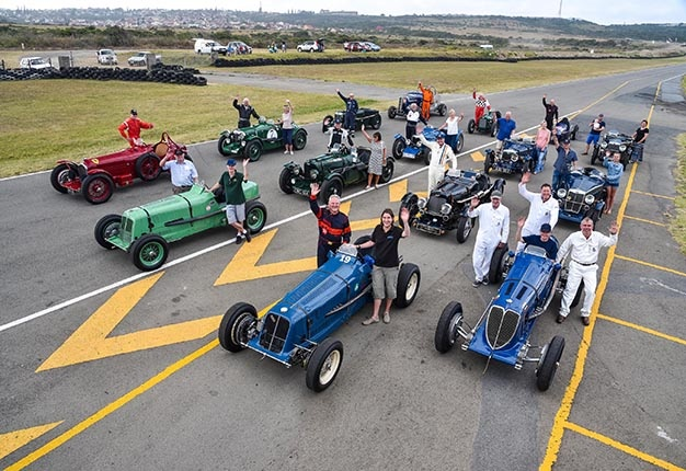 Classic Race Cars, Family Reunions And More As Motorsport Fans Celebrate The South African Historic Grand Prix Festival photo