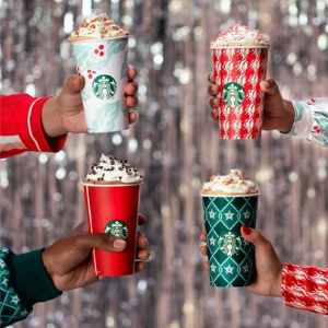 Coffee Giant Starbucks Under Fire Over Festive Themed Holiday Cups photo