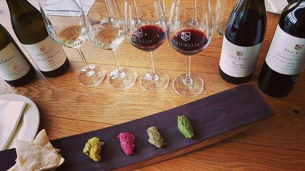 Pesto And Wine Pairing At Neill Ellis Wines photo