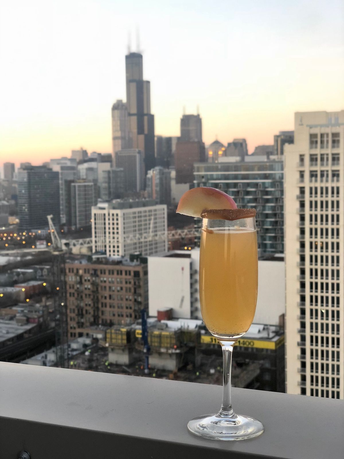 Wtoc Cookbook: Cyreia Sandlin's Caramel Apple Cider Mimosa photo