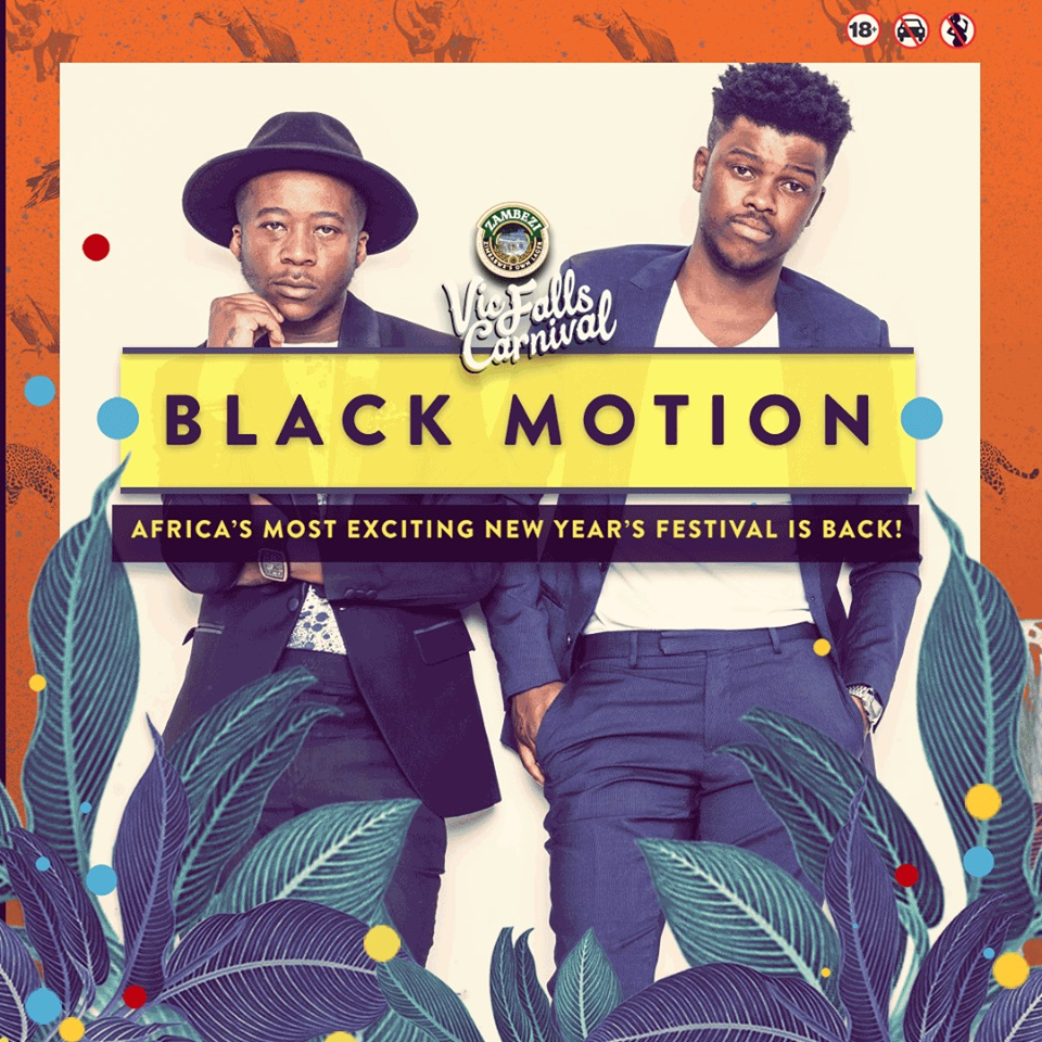 Black Motion, Flying Bantu Added To Vic Falls Carnival Lineup photo