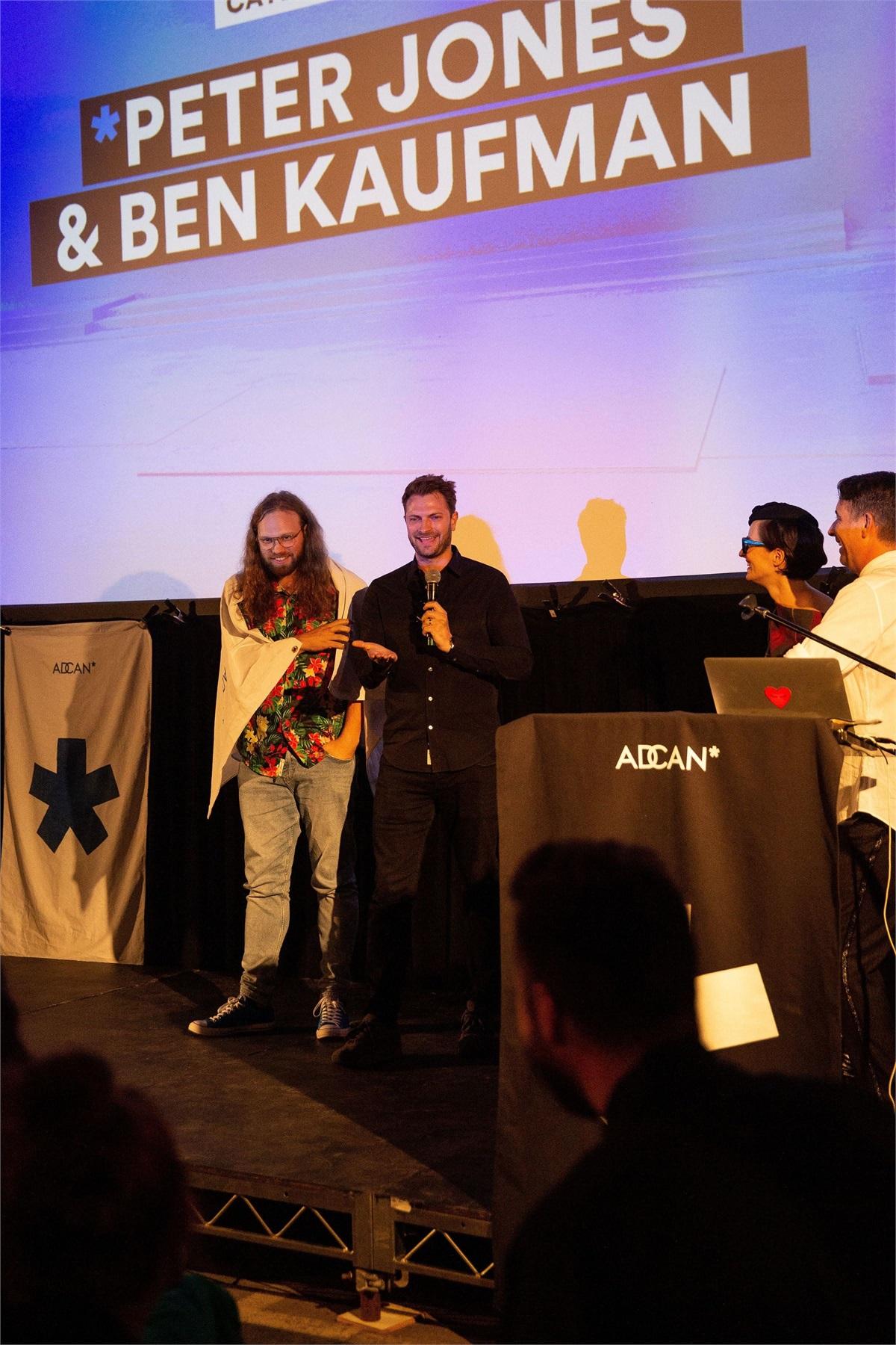 Sa Filmmakers Win Adcan Grand Prix Award In L.a. photo