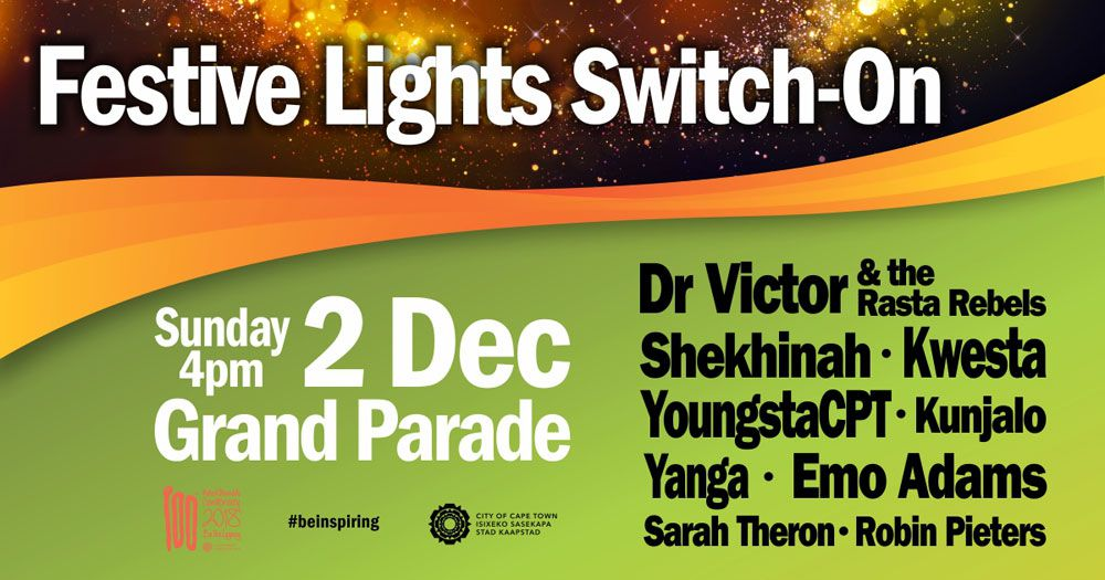 Top Acts To Usher In Holiday Season At Festive Lights Switch-on photo