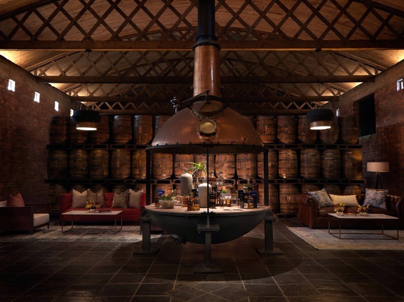5782 Bains interior tasting room 01 5 Most Beautiful South African Distilleries