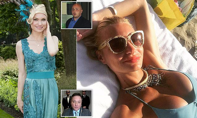 Smirnoff Heiress And Ex-miss Russia Is Cleared Of Hiring 'fake Bailiff photo