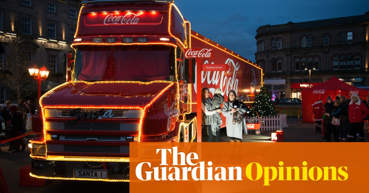 It'll Be Lonely This Christmas Without The Coca-cola Truck photo