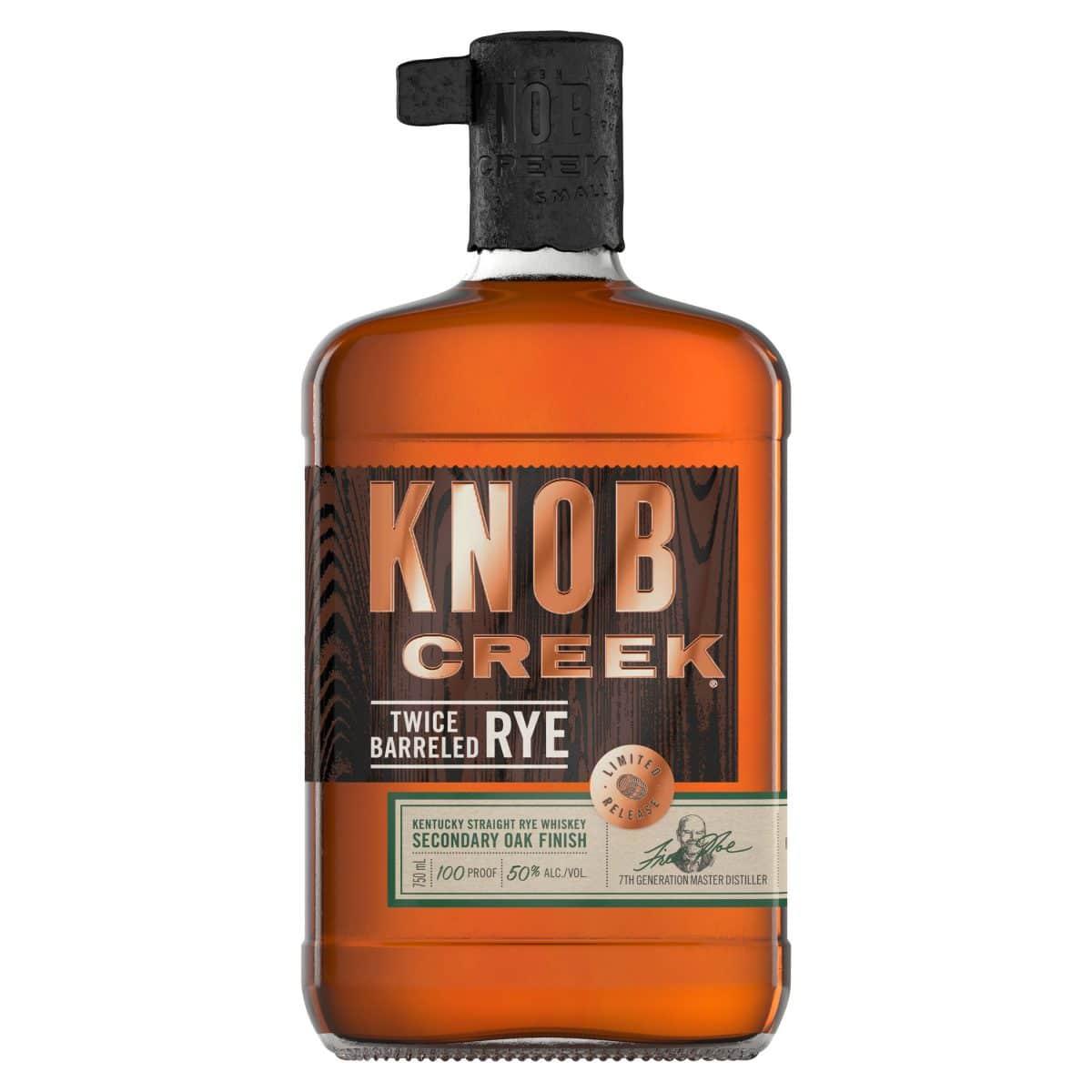 Knob Creek Introduces Twice Barreled Rye To Its Rye Whiskey Portfolio photo