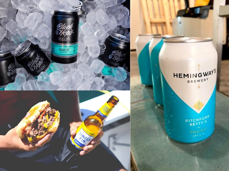 Ice Cold Liquid Gold Ready To Flow At Beer 'n' Burger Fest photo