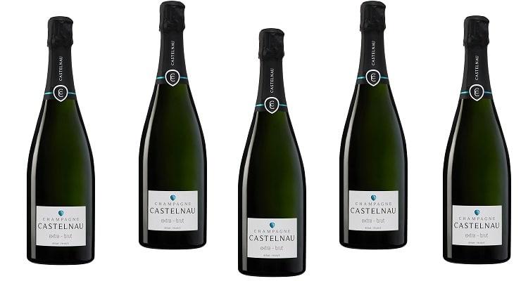 Launch Of Champagne Castelnau Extra Brut photo