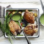 Chicken with Green Sauce photo