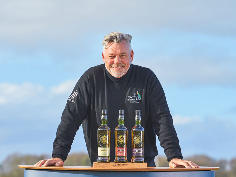 Darren Clarke Joins Loch Lomond Whiskies photo